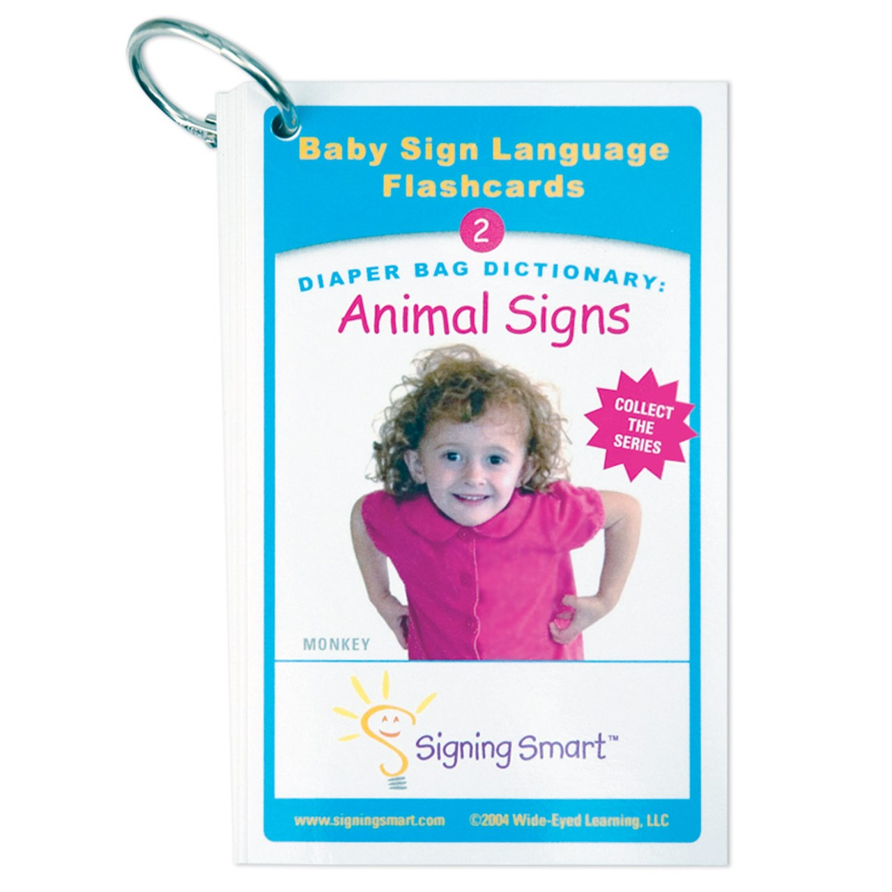 Diaper Bag Dictionary- Animal Signs Teaching Cards
