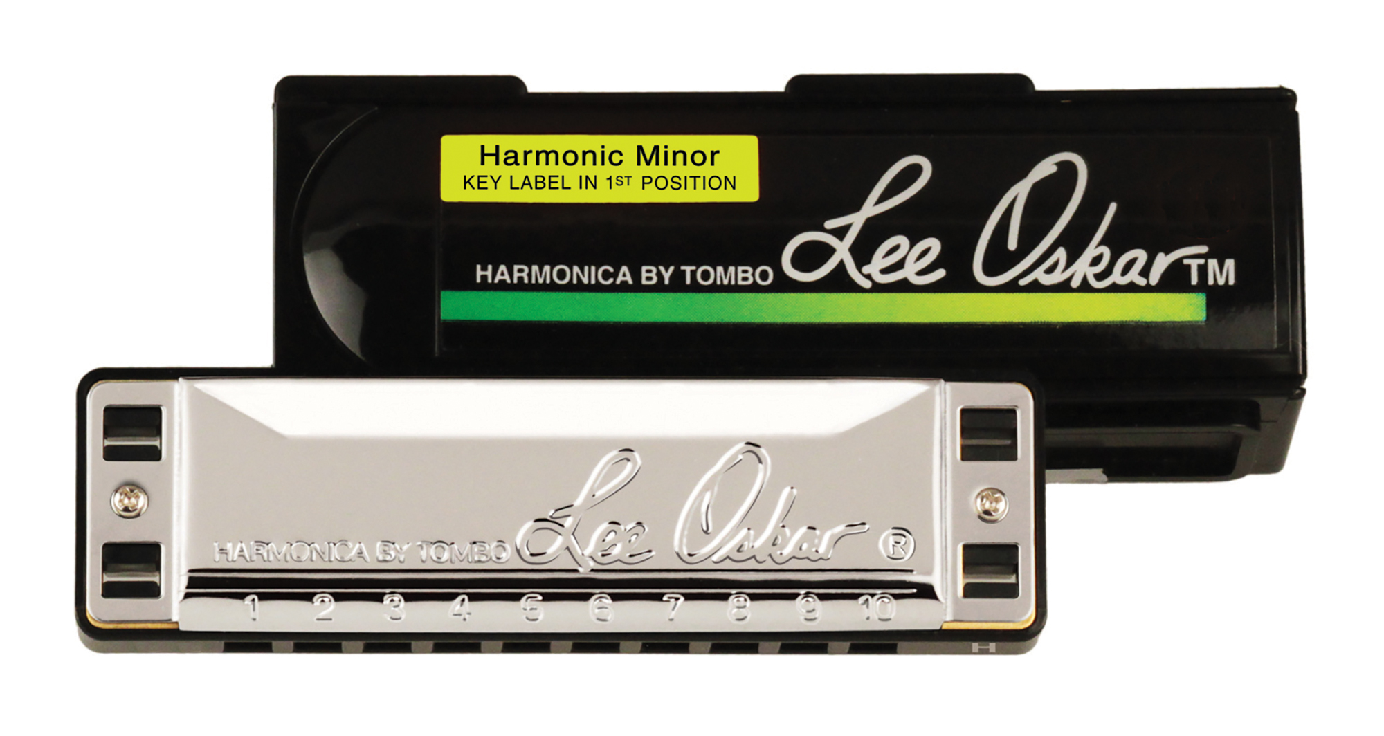 Lee Oskar Harmonic Minor Harmonica Key of G by Lee Oskar Harmonicas