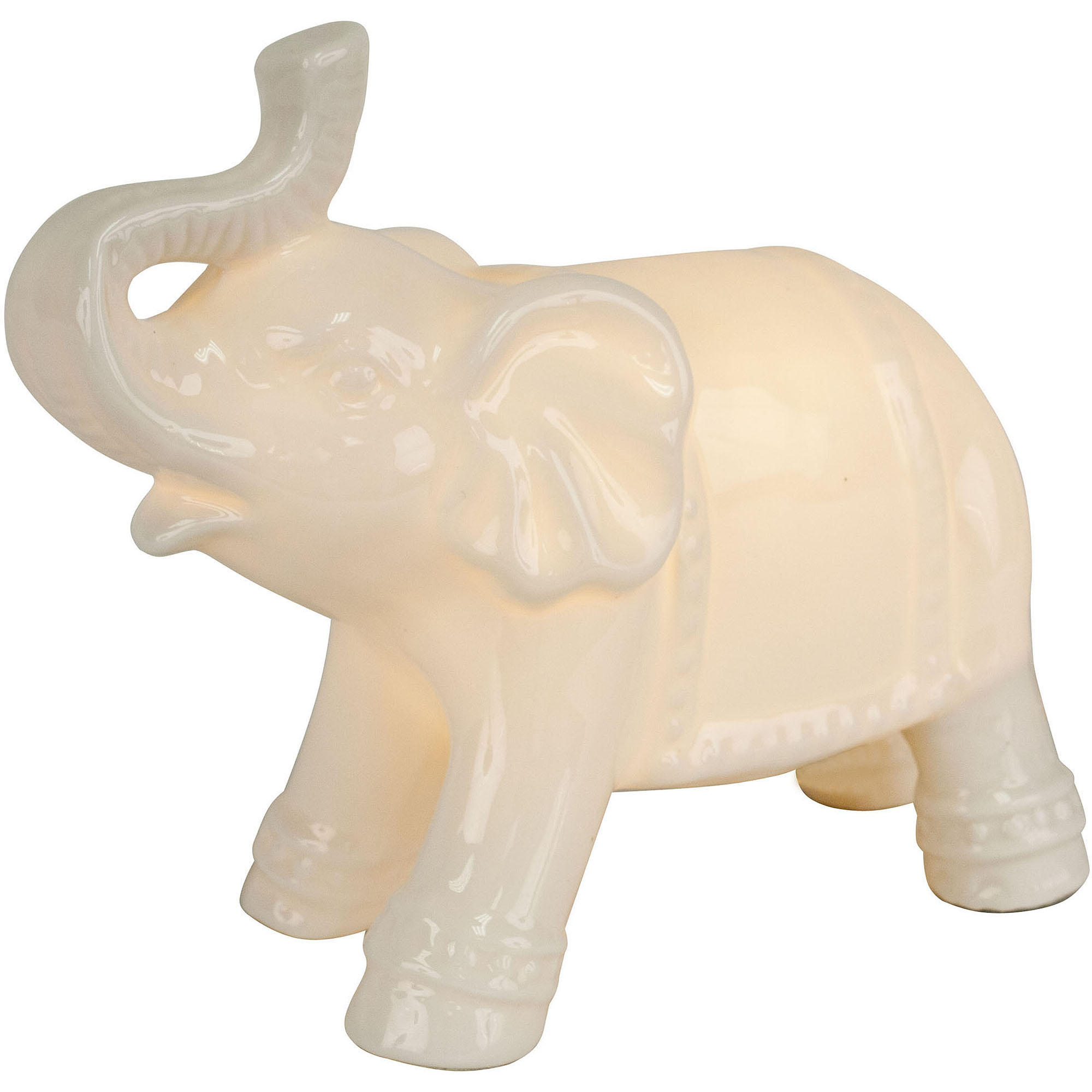 Nice Better Homes And Gardens Ceramic Elephant Night Lamp   Walmart.com