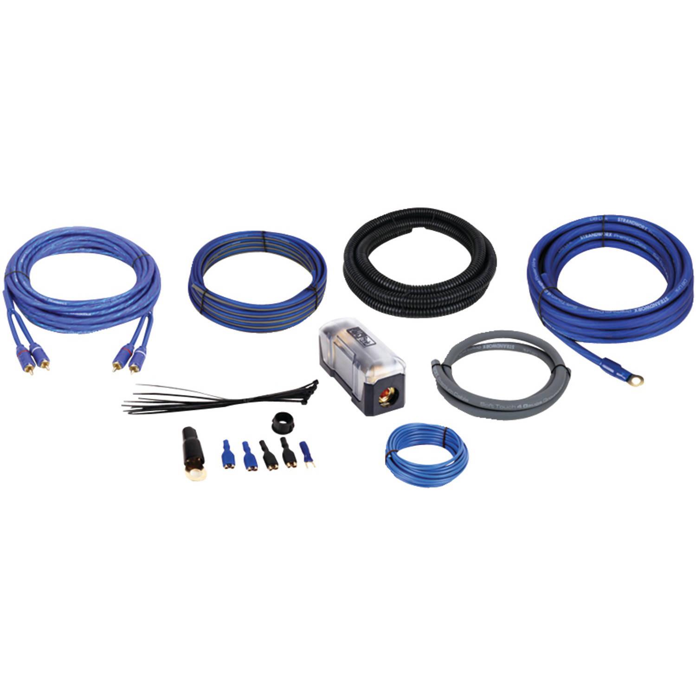DB Link SR4K Strandworx 100 Percent OFC Copper Amp Kit, 4-Gauge