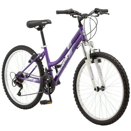 """Roadmaster 24"""" Granite Peak Girls Mountain Bike, Purple"""