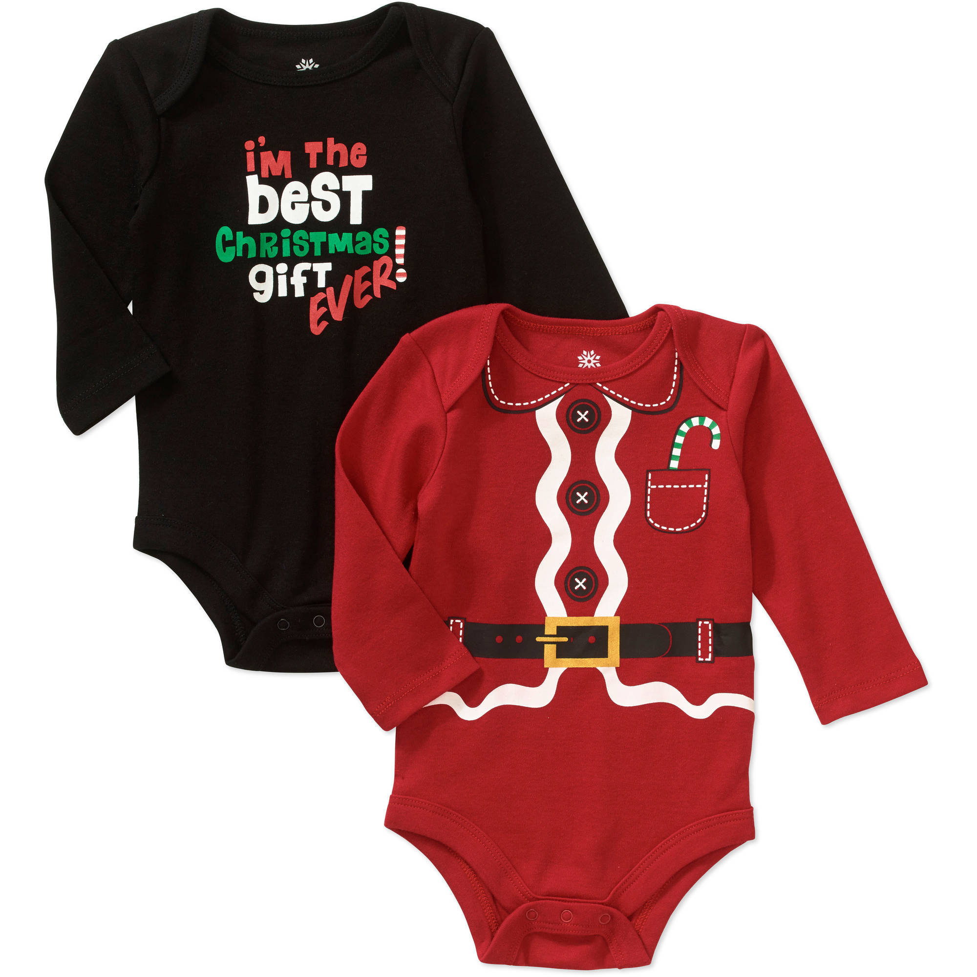 Seasonal ^^garanimals Newborn Boy Christmas Bodys