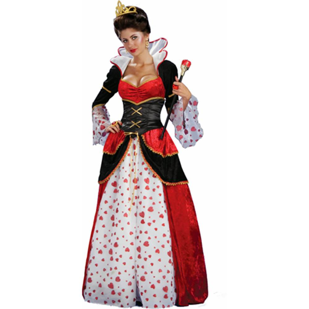 Classic Red Queen of Hearts Adult Costume