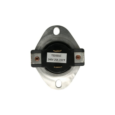 Replacement Fixed Thermostat 3387134, WP3387134, 2011, 306910, 3387135, 3387139, WP3387134VP for Whirlpool LET5434AW0 Dryer - image 1 de 4