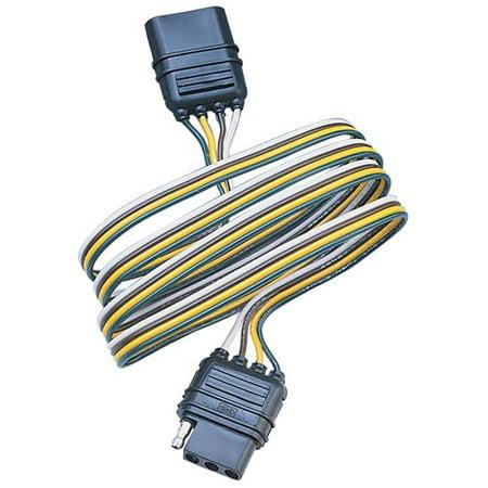 Hopkins Mfg. Corp. 4-Wire Flat Modular Trailer Plug Replacement  47105 - image 1 de 2
