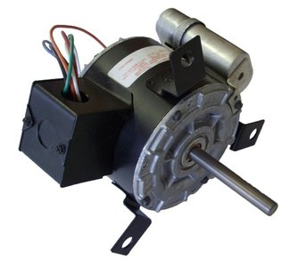 Penn Vent Electric Motor (DE2F090N) 1/6 HP, 1550 RPM, 115V # 63769-0
