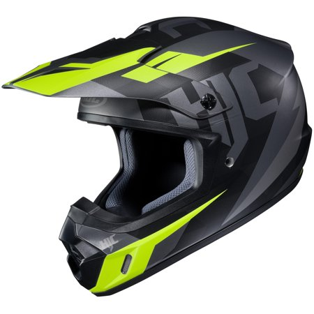 HJC CS-MX II Dakota Helmet Semi-Flat Black (MC-5SF) (Yellow, X-Small)