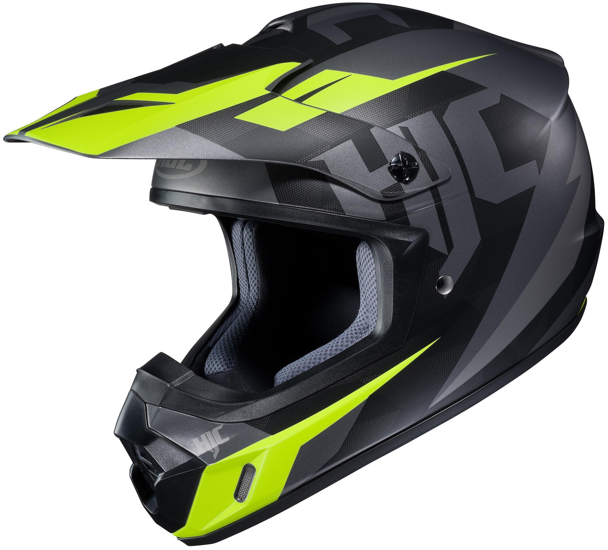 HJC CS-MX II Dakota Helmet Semi-Flat Black (MC-5SF) (Yellow, X-Small)
