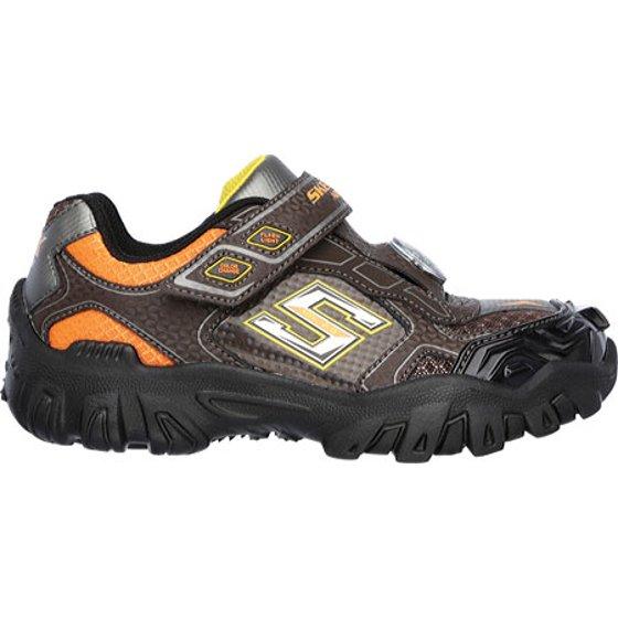 Skechers Boys' Hot Lights Damager II Adventure 2.0 Trail Sneaker