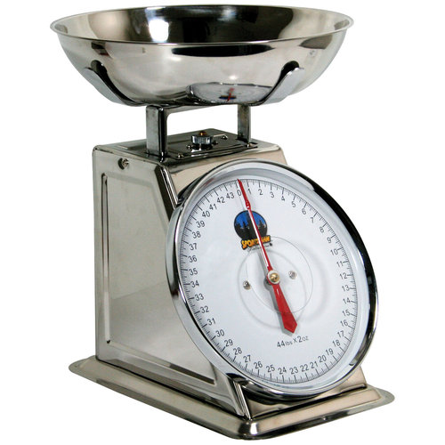Buffalo Tools SSDSCALE Stainless Dial Food Scale