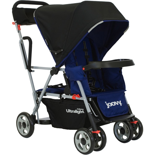 Joovy  -  Caboose Ultralight Stand - On Tandem Stroller, Blueberry