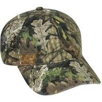 Outdoor Cap 6-Panel Hat, Mossy Oak Break Up Country