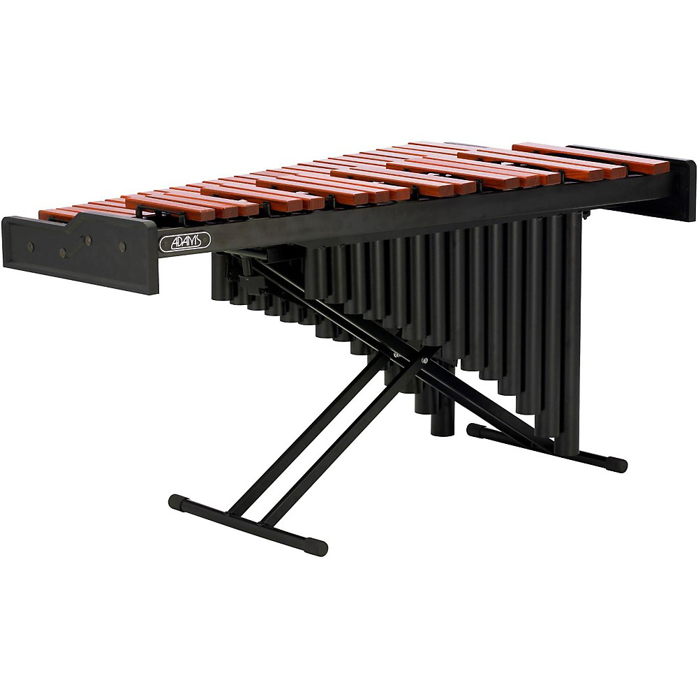 Adams Academy 3.3 Padouk Marimba with Resonators and X-Stand 3.3 octaves