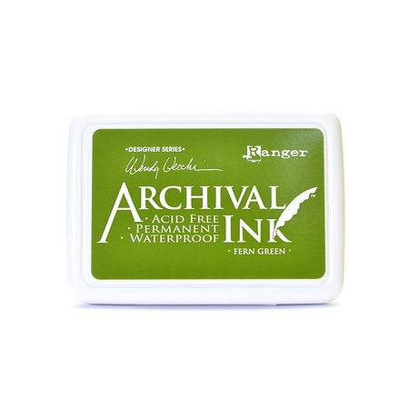 Archival Ink Wendy Vecchi Designer Series leaf green, 2 1/2 in. x 3 3/4 in., pad (pack of