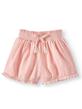 adede5830cb2 Product Image Wonder Nation Smocked Waist Short (Toddler Girls)