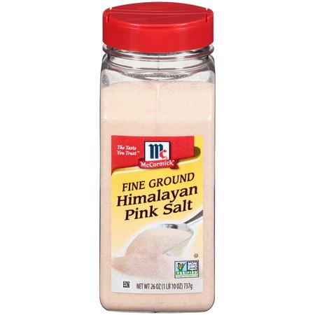 McCormick Fine Pink Himalayan Salt, 26 oz (Best Himalayan Salt Brand)