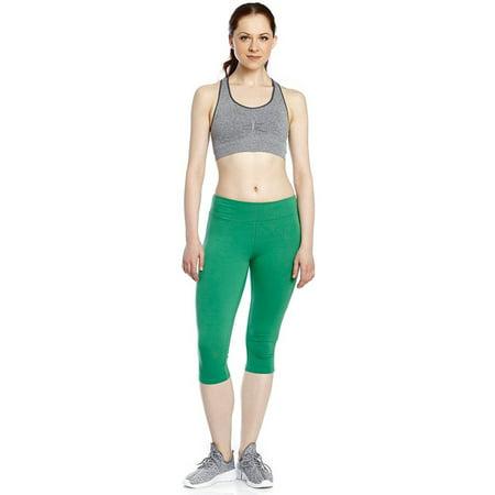 Blue Yoga Capris (Leveret Women's Capri Yoga Legging (Size)
