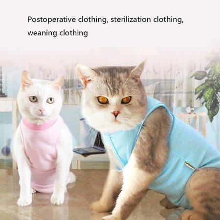 Cat Sterilization Service Postoperative Anti-bite Anti-add Four Feet Clothes - image 8 of 8