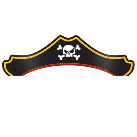 Pirate Hats For Sale (Creative Converting Pirate Treasure Party Hats, 8)