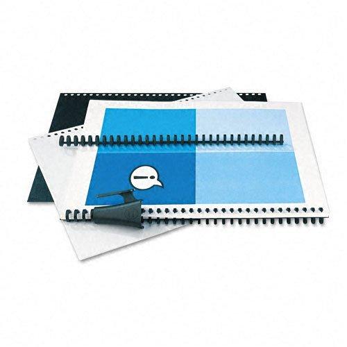 "Gbc Proclick Binding Presentation Kit - 0.31"" Folder Capacity - Sheet Size50 Sheet Capacity - Black - 1 / Kit (gbc-2515665)"
