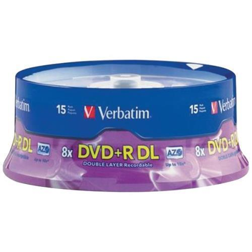 95484 8.5GB Dual-Layer DVD+Rs (15-ct Spindle)