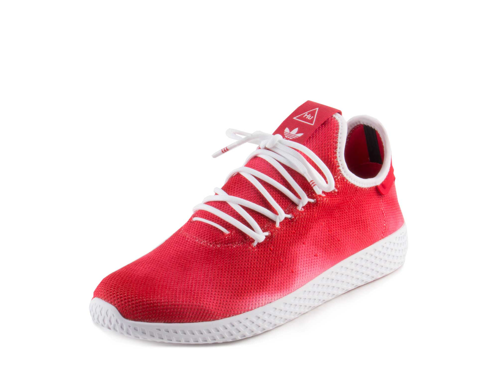Adidas Mens PW HU HOLI Tennis Hu Scarlet Red Cloud White DA9615 by Adidas