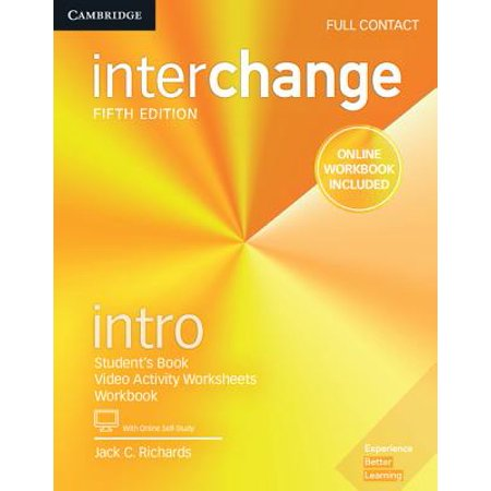 Interchange Intro Full Contact with Online Self-Study and Online (Fill Line)
