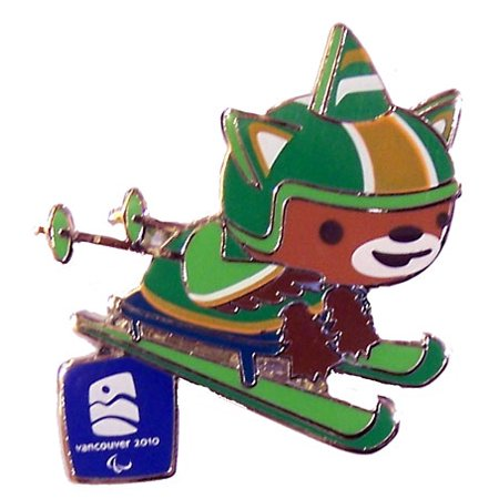 Vancouver 2010 Olympics Sumi Cross Country Skiing Pin ()