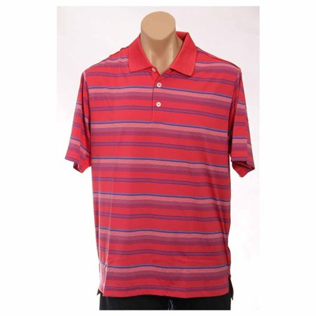 Adidas Mens Climacool Stripe   Athletic  T-Shirt - Climacool Golf Shirts