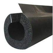 BRISKHEAT Pipe Insulation,1 in. ID,6 ft. L,Black INSUL138