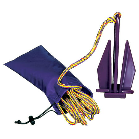 Anchor Bag - PWC Fluke Anchor, Nylon Bag, Rope