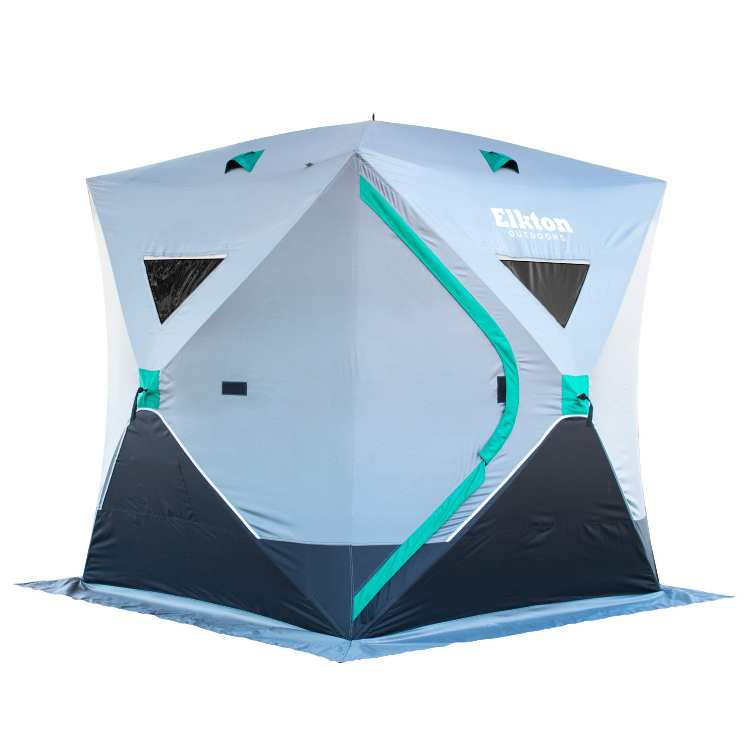 Elkton Outdoors 3 Person Ice Fishing Tent With Carry Pack by Elkton Outdoors