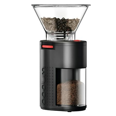 bodum bistro electric burr coffee grinder plastic black. Black Bedroom Furniture Sets. Home Design Ideas