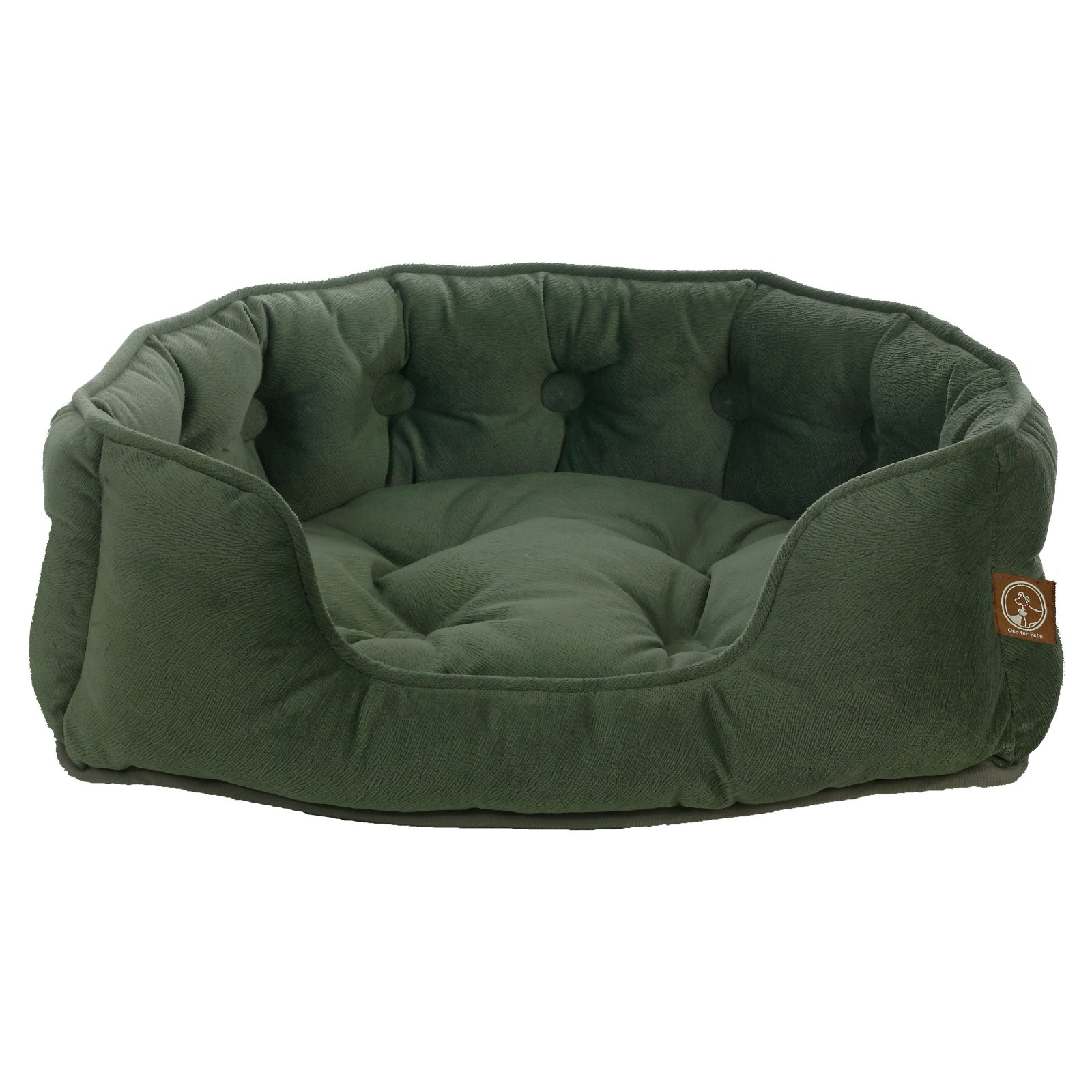 One For Pets Faux Suede Snuggle Bed