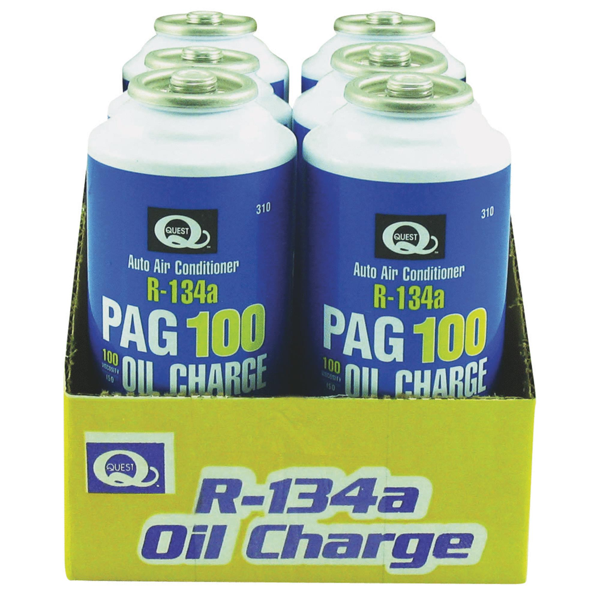 Quest PAG Oil Air Conditioner Recharge Kit