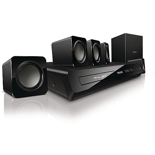 philips 5 1 home theater system 3d blu ray dolby truehd hts3541 f7 rh walmart com Philips Blu-ray Home Theater Philips Blu-ray DVD Player Surround Sound