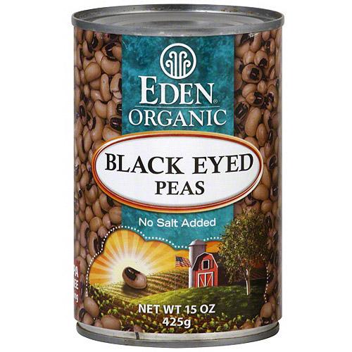 Eden Black Eyed Peas, 15 oz (Pack of 6) by Generic