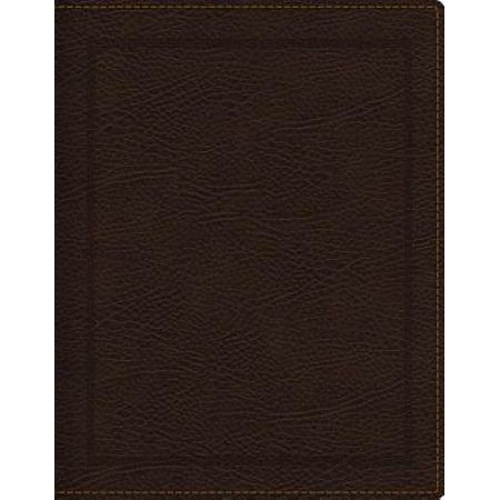NKJV, Journal the Word Bible, Bonded Leather, Brown, Red Letter Edition, Comfort Print : Reflect, Journal, or Create Art Next to Your Favorite