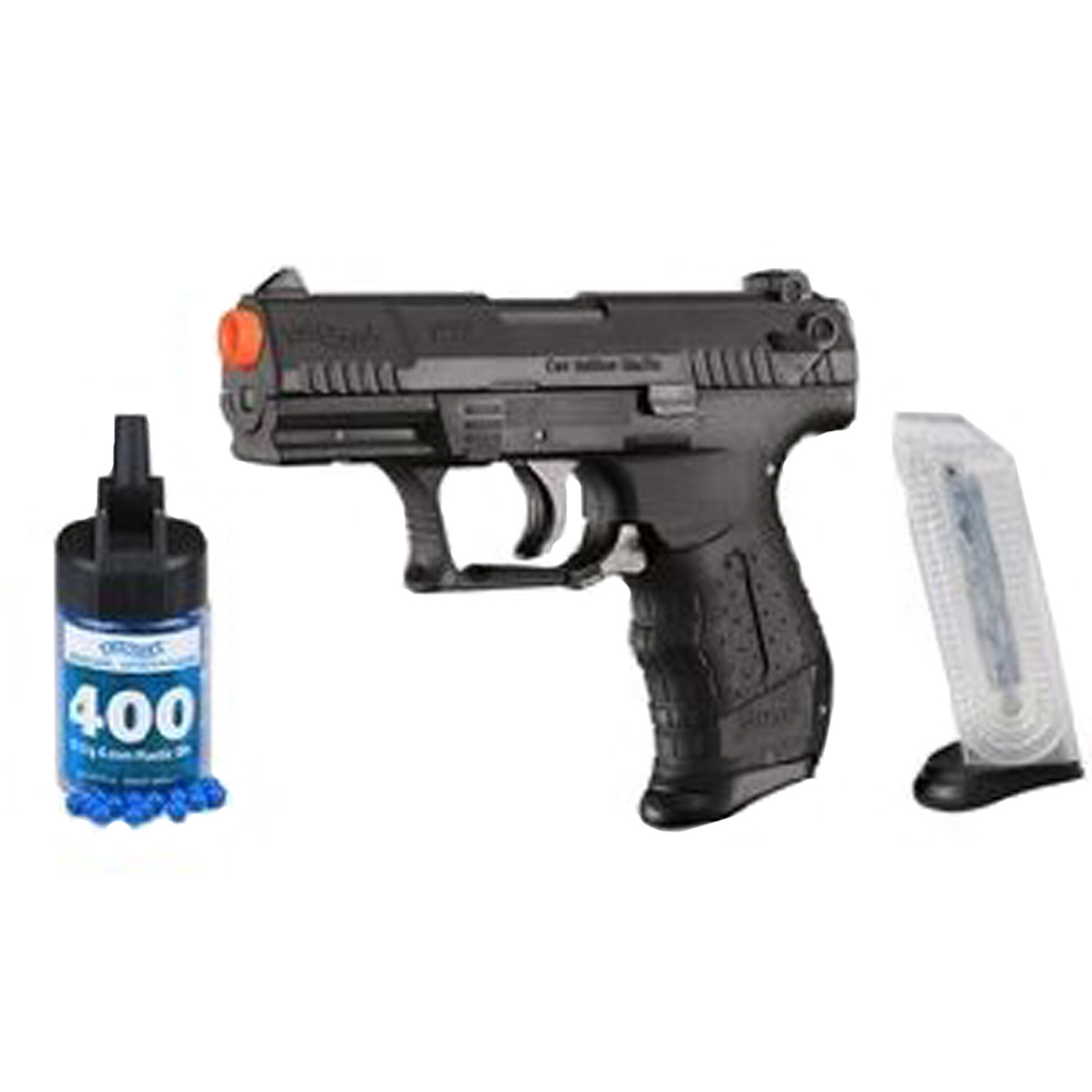 Walther 2272001 Air Soft Pistol P22 6mm w/Spare Magazine 20