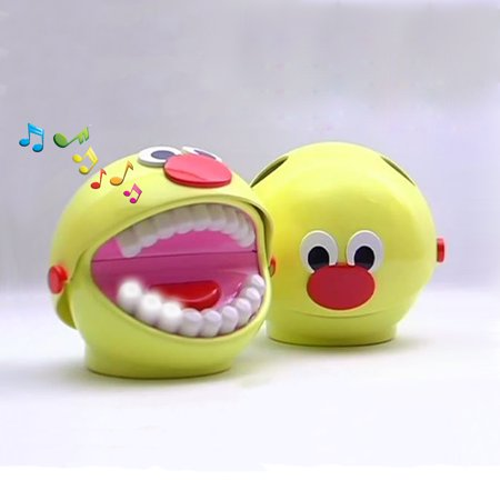 Kids Toothbrush Timer (BrushyBall - Kids' Toothbrush Holder, Timer and Training Coach )