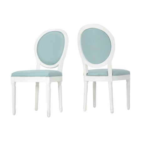 Phinnaeus Oval Back Dining Side Chair - Set of (Oval Back Chairs)