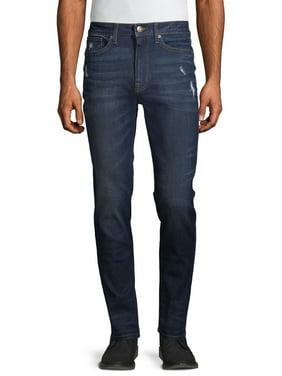 No Boundaries Men's Skinny Jeans 2-Pack