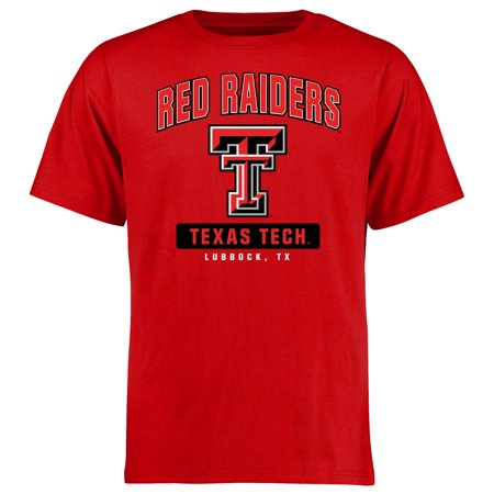 - Texas Tech Red Raiders Campus Icon T-Shirt - Red