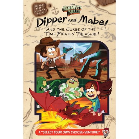 Gravity Falls: Dipper and Mabel and the Curse of the Time Pirates' Treasure! - eBook ()
