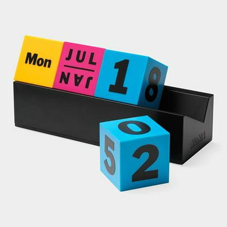 Perpetual Desk Calendar - MoMA Cubes Decorative Perpetual Calendar