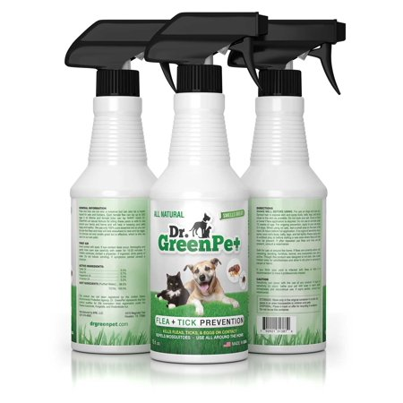 Dr Greenpet All Natural Flea And Tick Prevention And