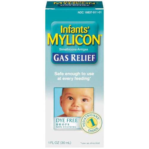 Baby gas drop