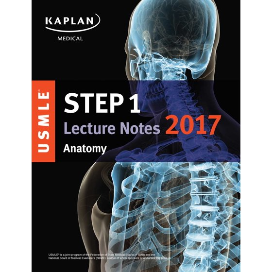 USMLE Step 1 Lecture Notes 2017: Anatomy - Walmart.com