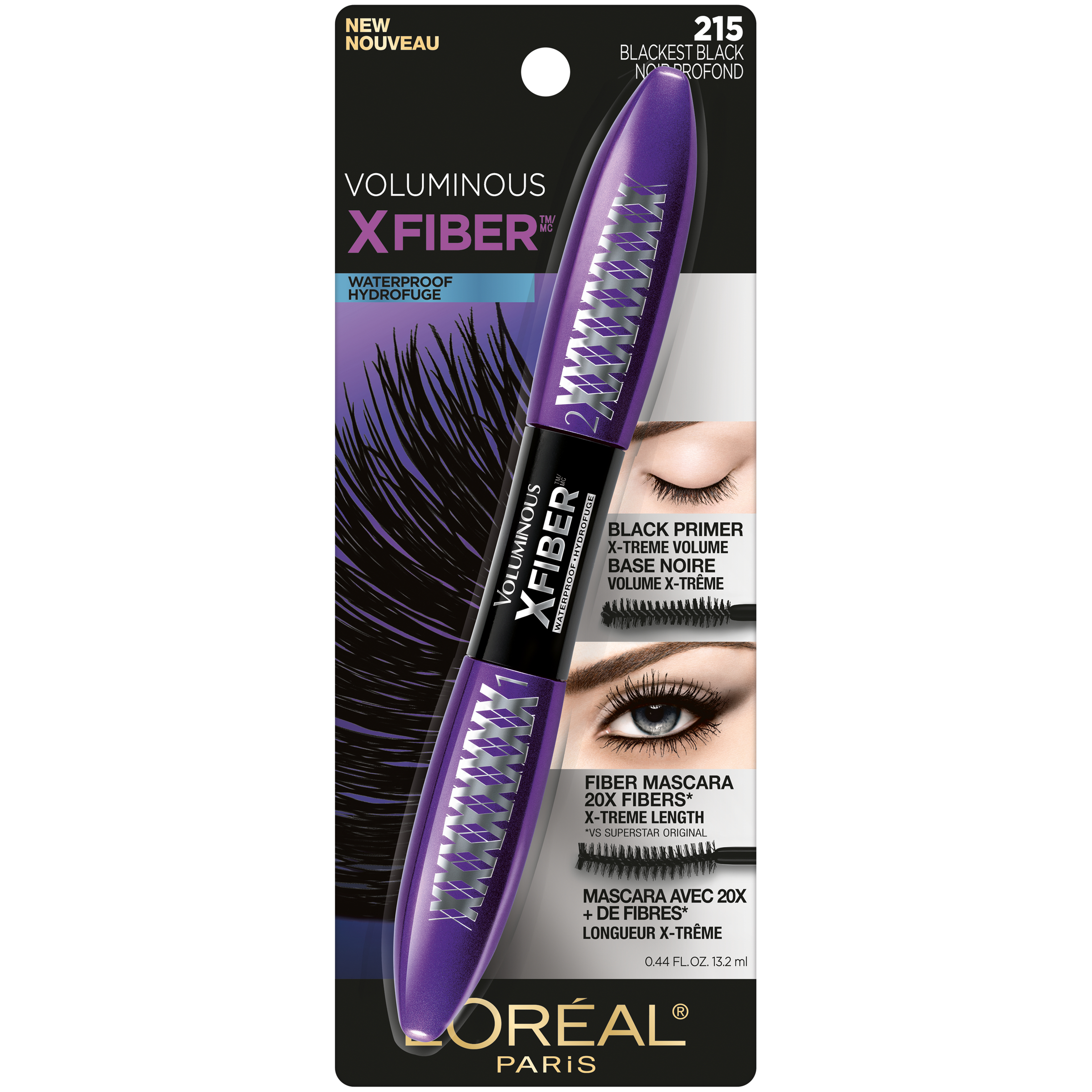 L'Oreal Paris Voluminous X Fiber Waterproof Mascara