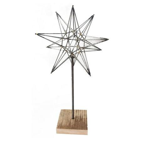 A & B Home Star Sculpture on